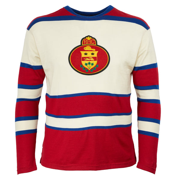 buy popular 87f04 dde66 Montreal Royals Authentic Hockey Sweater – Ebbets Field Flannels