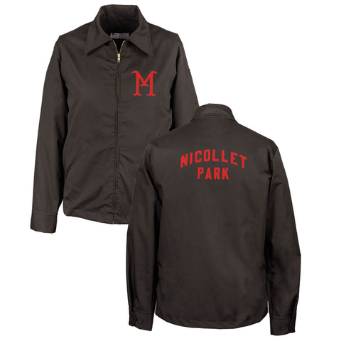 2X-LARGE - Minneapolis Millers Grounds Crew Jacket