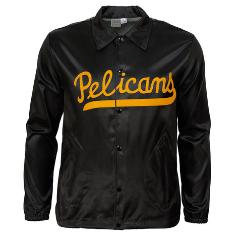 New Orleans Pelicans Vintage Satin Windbreaker