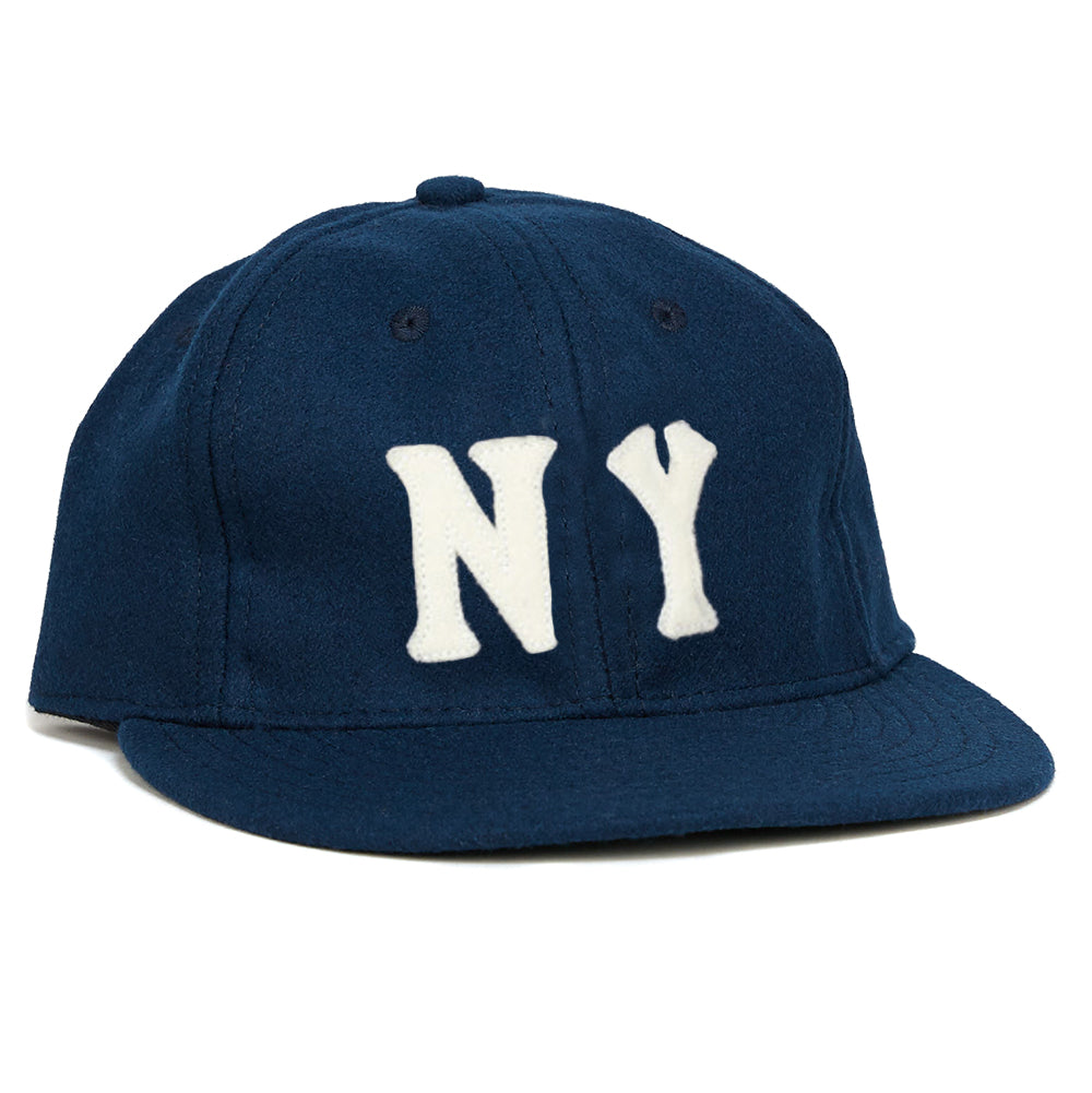 New York Black Yankees 1936 Vintage Ballcap – Ebbets Field Flannels 333324b05