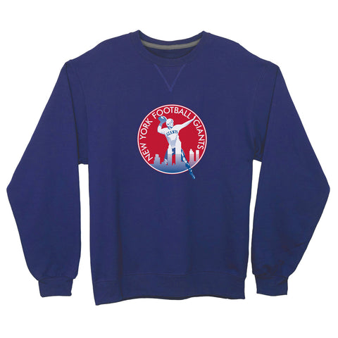 New York Giants Lightweight Crewneck