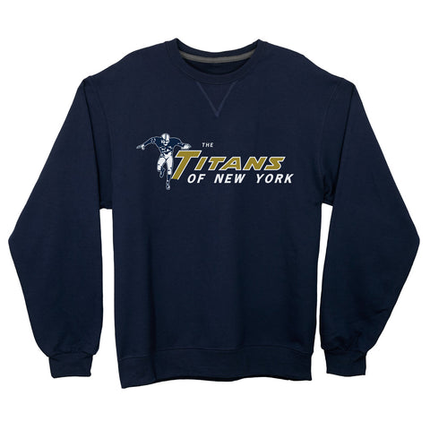 New York Titans Lightweight Crewneck