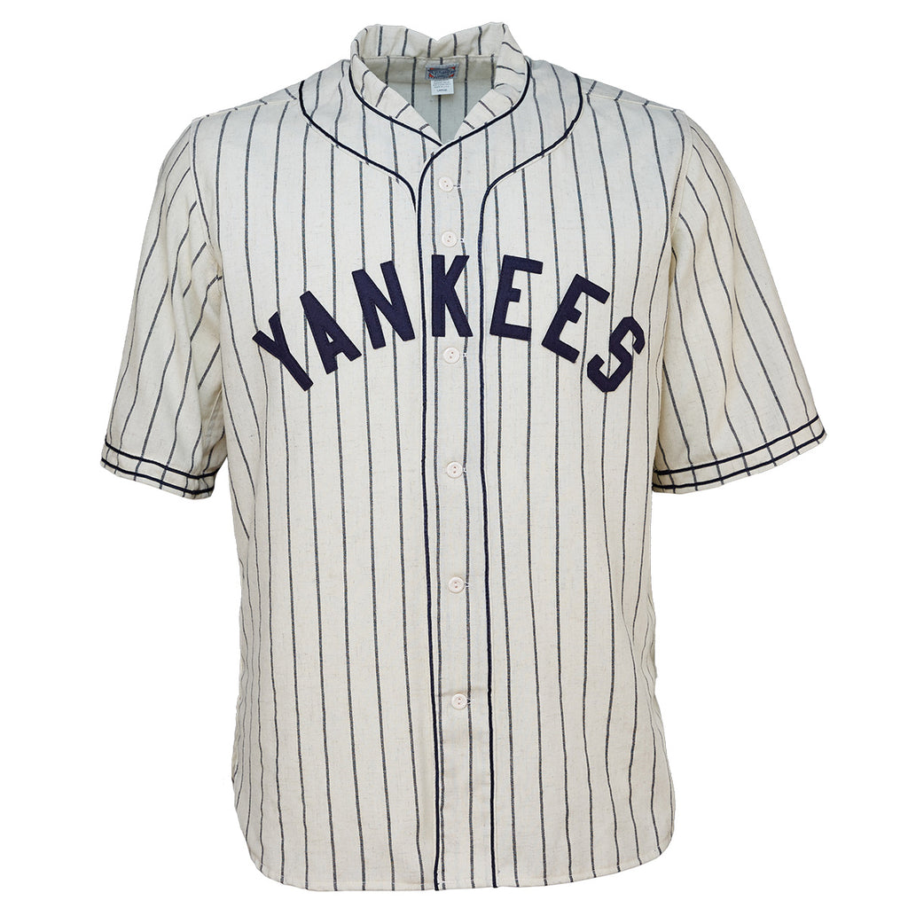 New York Black Yankees 1935 Home Jersey – Ebbets Field Flannels 5f9bfb5fb3a