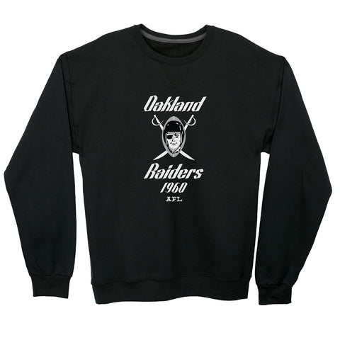 Oakland Raiders Lightweight Crewneck