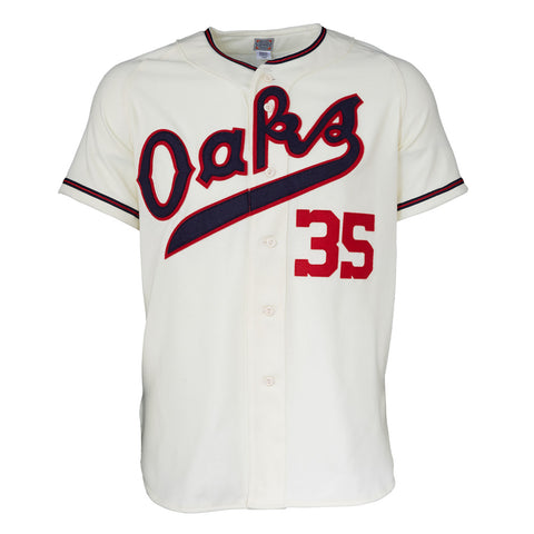 Oakland Oaks 1955 Home Jersey