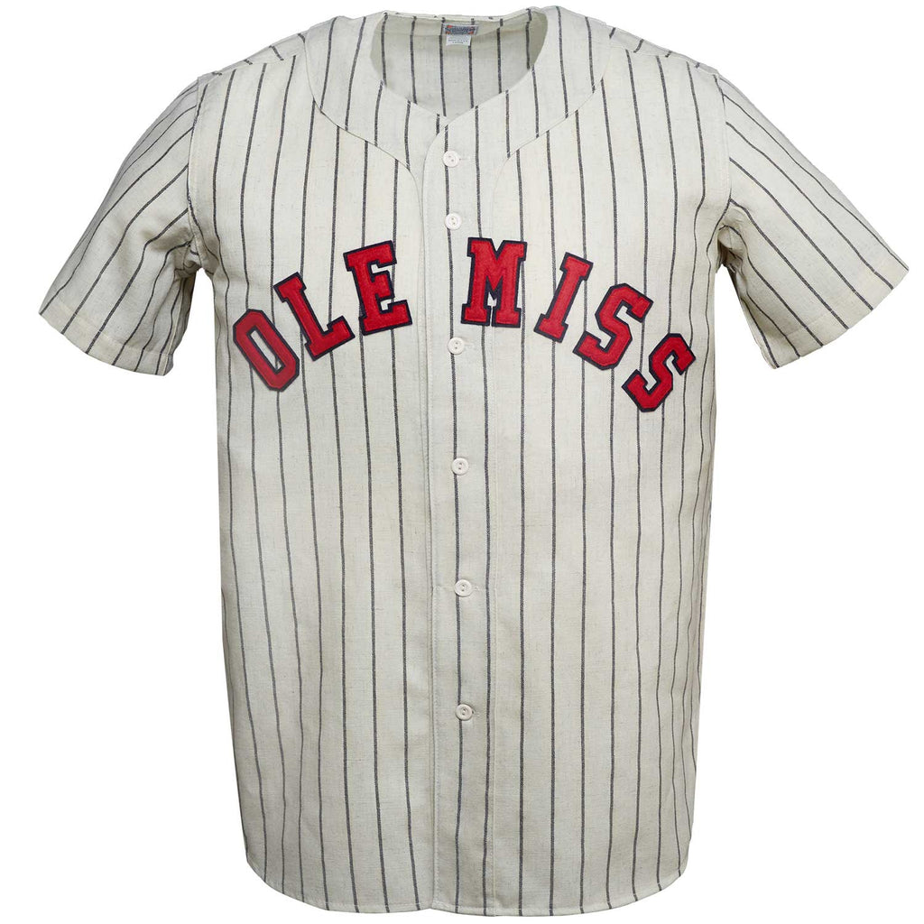 University of Mississippi 1969 Home Jersey – Ebbets Field Flannels 7d2788ee3