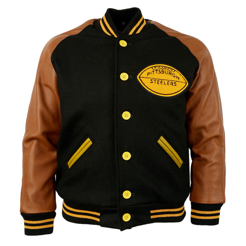 MED - Pittsburgh Steelers 1955 Authentic Jacket
