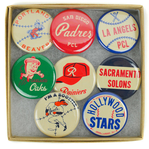 Pacific Coast League Pin Set