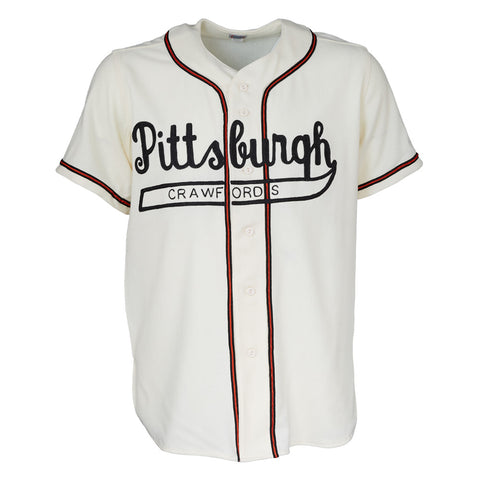 Pittsburgh Crawfords 1938 Home Jersey