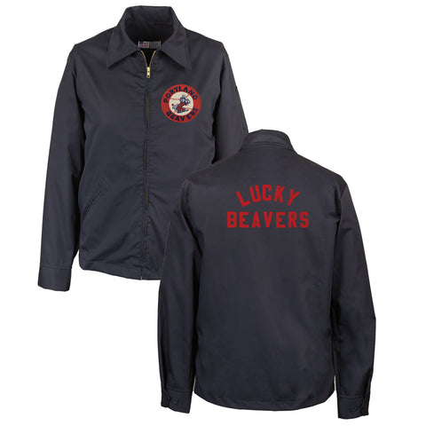 Portland Beavers Grounds Crew Jacket