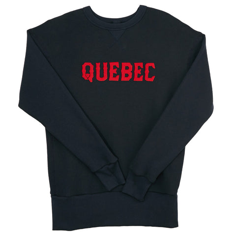 Quebec Braves Crewneck Sweatshirt