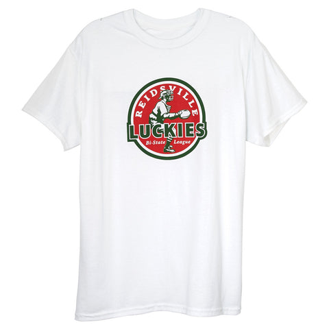 Reidsville Luckies White T-Shirt