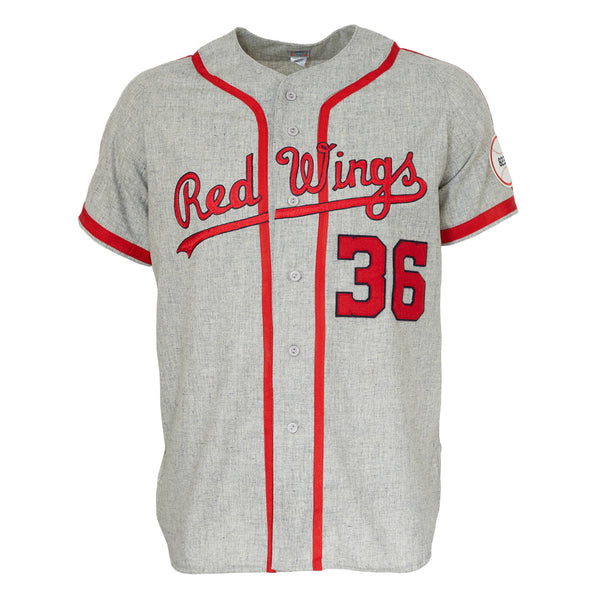 70049c64e Rochester Red Wings 1963 Road Jersey