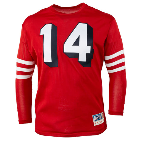 LARGE - San Francisco 49ers 1955 Durene Football Jersey