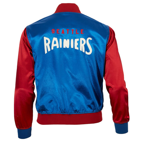 Seattle Rainiers Satin Color Block Jacket