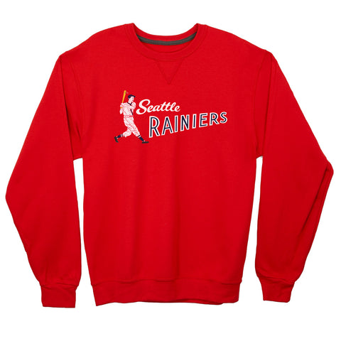 Seattle Rainiers Lightweight Crewneck