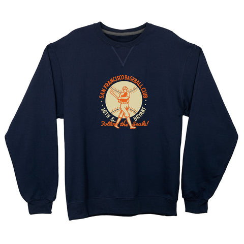 San Francisco Seals Lightweight Crewneck