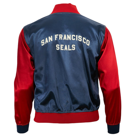 San Francisco Seals Satin Color Block Jacket
