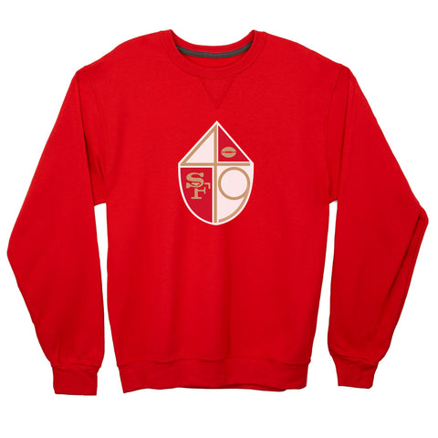 San Francisco 49ers Lightweight Crewneck