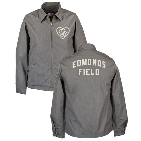 Sacramento Solons Grounds Crew Jacket