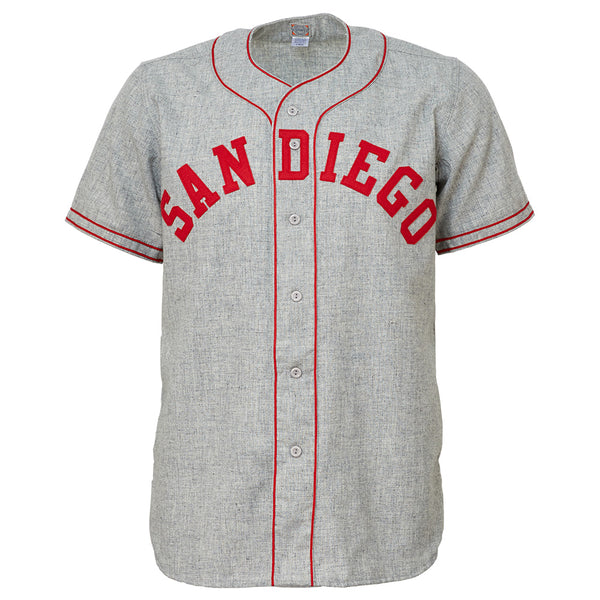 timeless design a11fa 592b4 San Diego Padres (PCL) 1946 Road Jersey