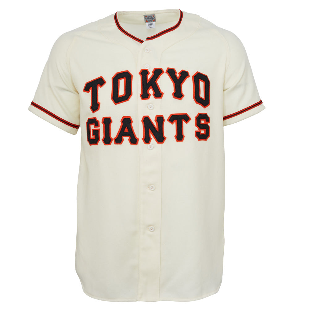 huge selection of 0f6f7 baed8 Tokyo Kyojin (Giants) 1953 Home Jersey