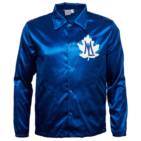 X-SMALL - Toronto Maple Leafs Vintage Satin Windbreaker