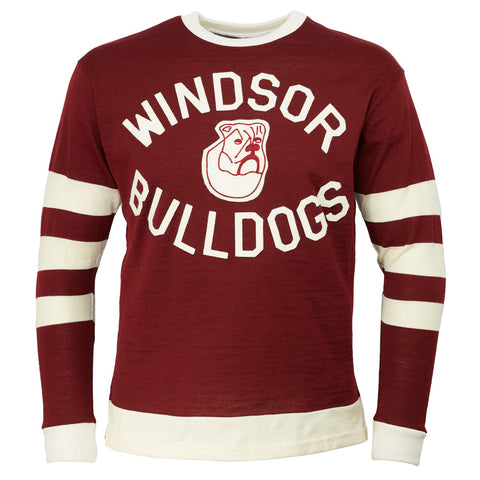 Windsor Bulldogs 1930 Hockey Sweater