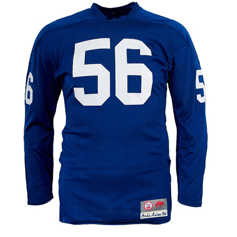 Buffalo Bills 1960 Durene Football Jersey