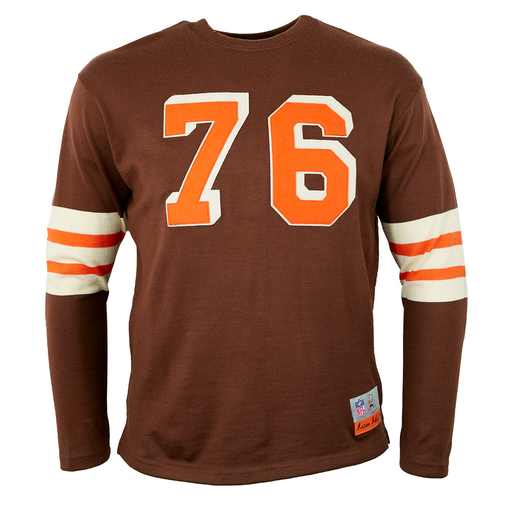 Cleveland Browns 1946 Authentic Football Jersey – Ebbets Field ...