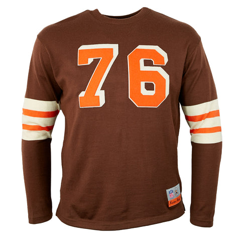 LARGE - Cleveland Browns 1946 Authentic Football Jersey