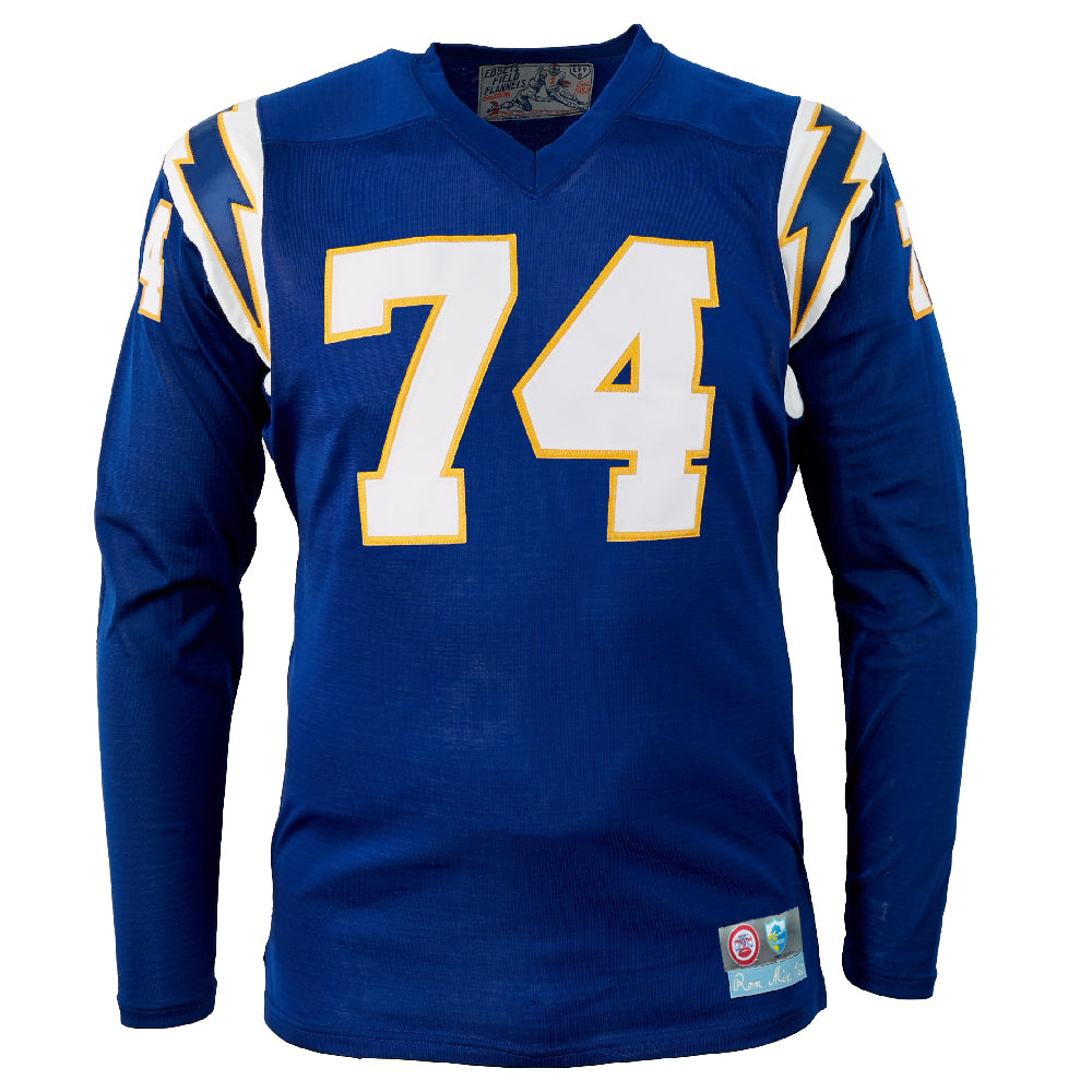 Los Angeles Chargers 1960 Durene Football Jersey