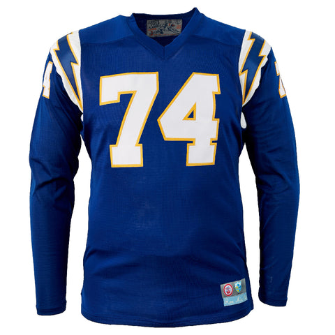 MED - Los Angeles Chargers 1960 Durene Football Jersey
