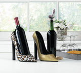 Glitter Shoe Wine Bottle Stopper