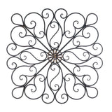 Iron Scrollwork Wall Decor