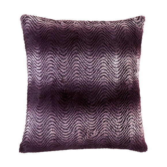 Orchid Ombre Fur Pillow