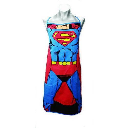 Superman Cooks Apron With Pocket