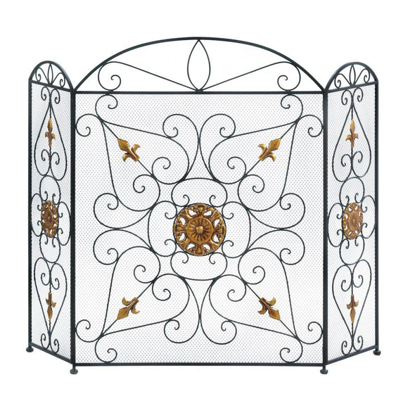 Splendor Fireplace Screen