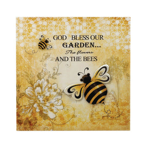 Bumble Bee 3-D Garden Wall Art
