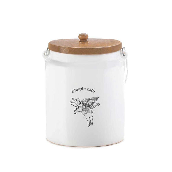 Flying Pig Large Canister