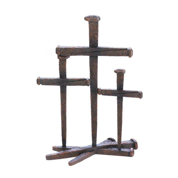 Cross Of Nails Trio Decor