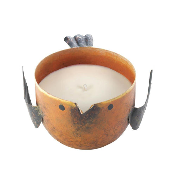 Peach And Grapefruit Birdie Candle