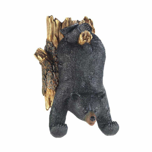 Bear Upside Down Wall Decor And Hooks