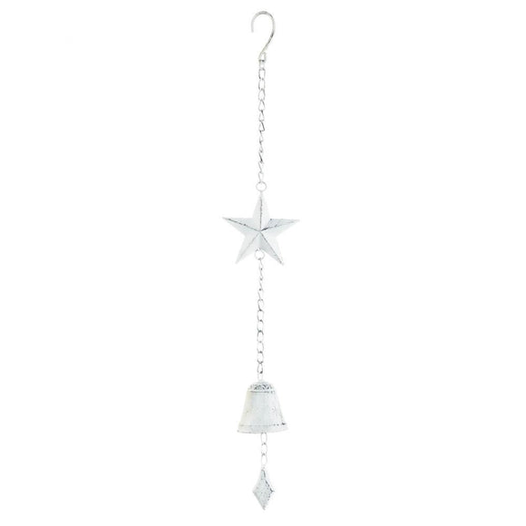 White Star Hanging Bell