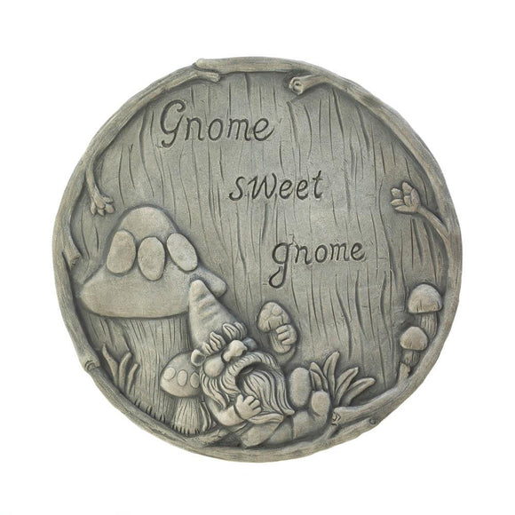 Gnome Sweet Gnome Stepping Stone