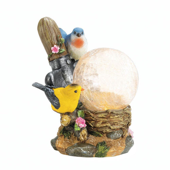 Songbirds Solar Lamp