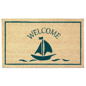 Sailboat Welcome Mat