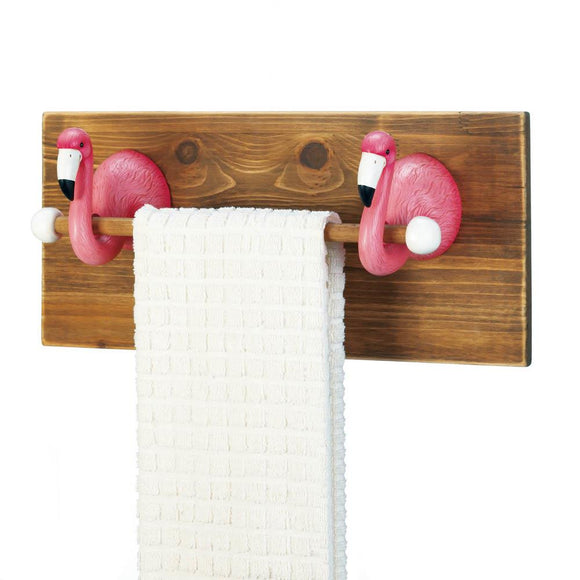 Flamingo Towel Holder