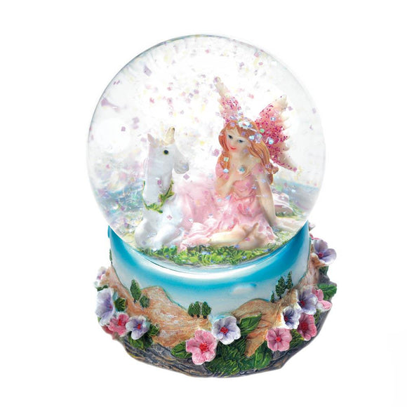 Garden Fairy Mini Snow Globe