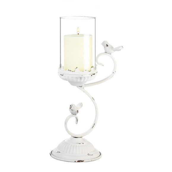 French Country Hurricane Candleholder